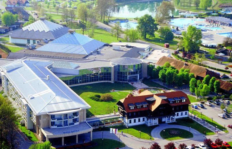 Hotel Toplice Slovenia. Located within the Čatež Thermal Spa complex and connected to the Winter and Summer Thermal Riviera via a covered enclosed pathway