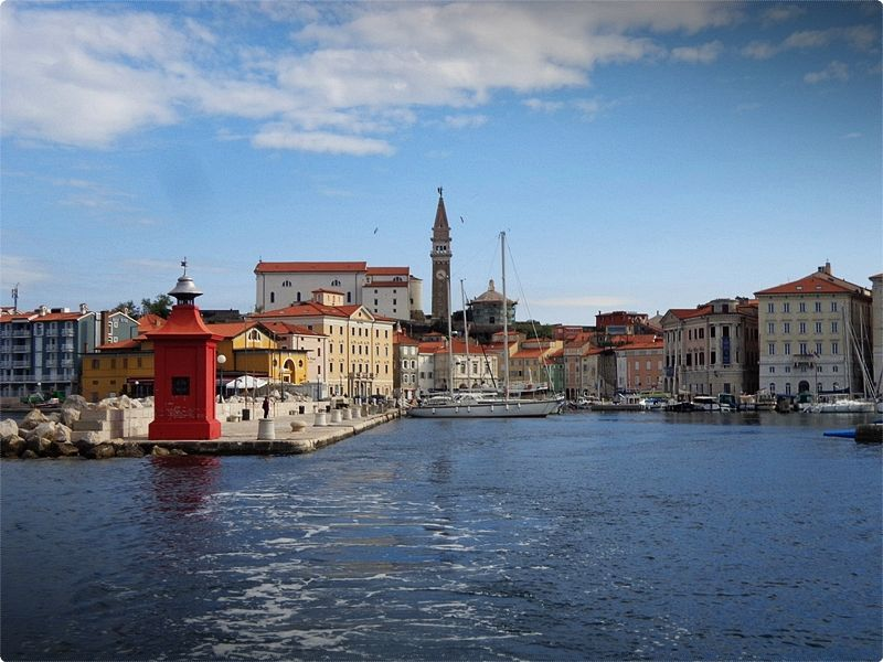 Everyone's favourite town on the Slovenian coast, picturesque Piran (Pirano in Italian) sits on the top of a narrow peninsula, the westernmost point of Slovenian Istria.