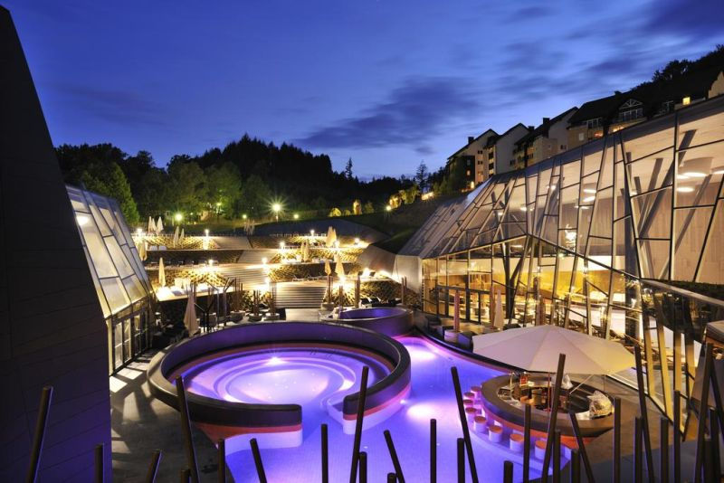 Terme Olimia - Hotel Sotelia. At the Wellness Center Termalija, the largest sauna complex in Slovenia, guests can enjoy free of charge spa facilities