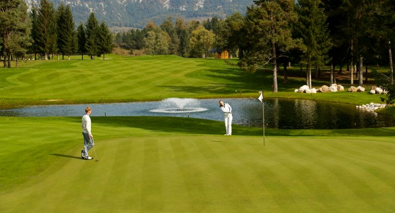 Lake Bled golf. The King's Course, with 18 holes, and the Lake Course, with 9 holes, offer a lot of possibilities for beginners but also set a challenge for the most expert players.