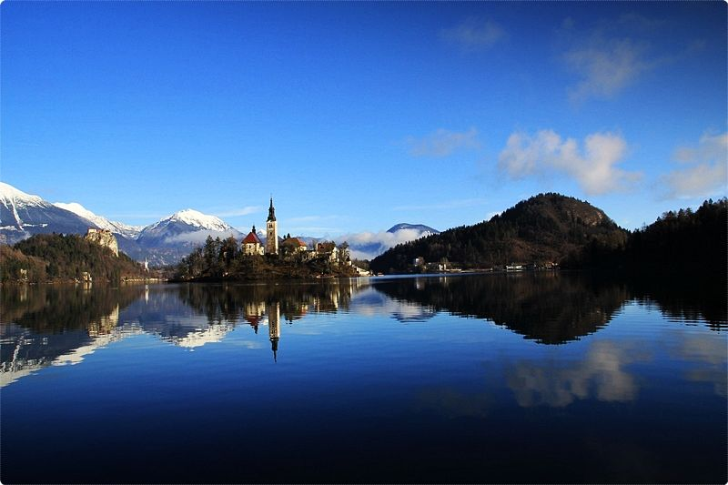 Lake Bled. Nowhere in the world is there a more lovely place, than this paradise and its surroundings. In this way, the poet defines the glacial Lake Bled, situated among solitary mountains.