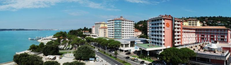 Grand Hotel Portoroz. The LifeClass hotel chain distinguishes itself by featuring excellent four- and five-star hotels.
