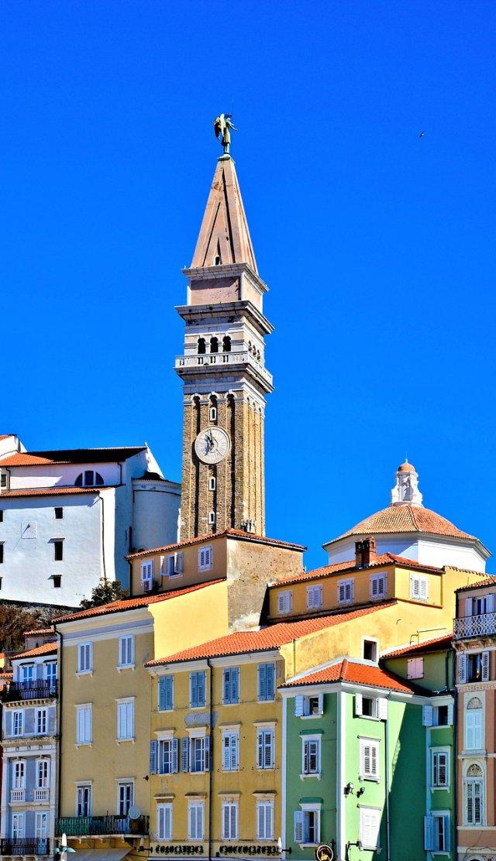 Piran   Slovenia. The Church of St George