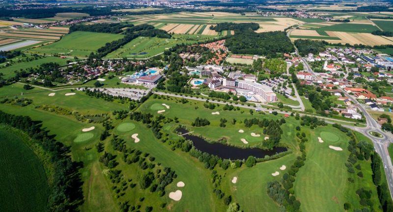 Livada Golf Course Moravske Toplice. The pleasures of golf alongside the Terme 3000 thermal springs