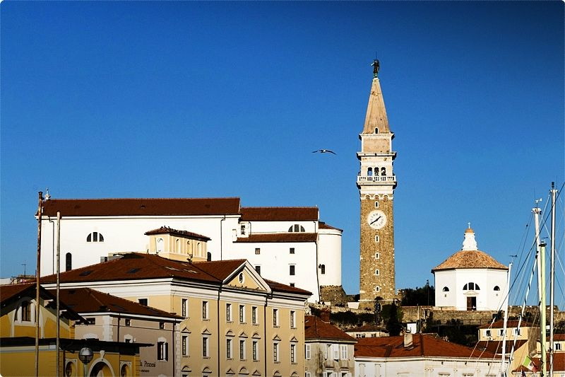 Piran's history likely dates to a Greek settlement, before either the Romans or the Slavs inhabited the seaside town. However, it's the Venetians, who owned the town from the 13th to 18th centuries