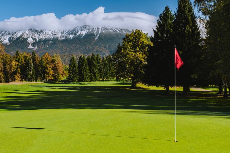 Bled Golf Course is the oldest and the largest Slovenian golf course. Its roots go back to 1937 and lots of guests declare it to be among the most attractive golf courses in Europe. It attracts amateurs and professionals from all around the world.