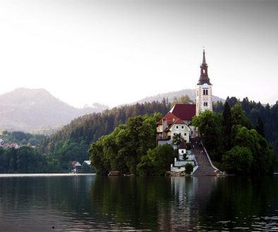 Try to  begin one of your visits to Slovenia on Lake Bled. Lake Bled with its fairytale-like, picturesque background attracts thousands of visitors each year.