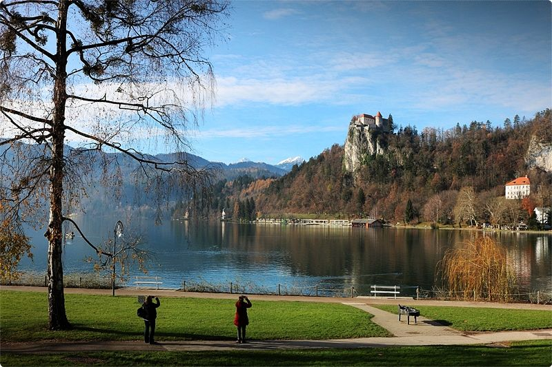 Positioned on a cliff some 140 meters on top of the lake, Bled Castle (8am-8pm daily May-Sept., 8am-6pm daily Oct.-Apr., €9) comes with a picturesque view and a modest exhibition of the past of Bled and the castle itself.