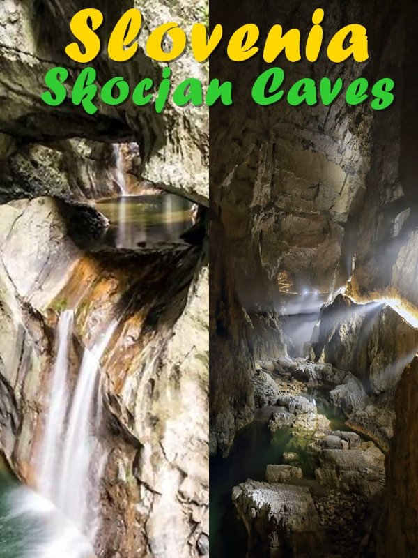 The Slovenia Skocjan Caves comprise a network of eleven caves, with hollows, swallow holes, natural bridges among them and many geological features.