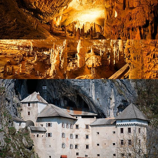 The southwestern districts of Slovenia, belonging to the Dinaric mountain range, abound in karst phenomena, disappearing streams, and subterranean caves